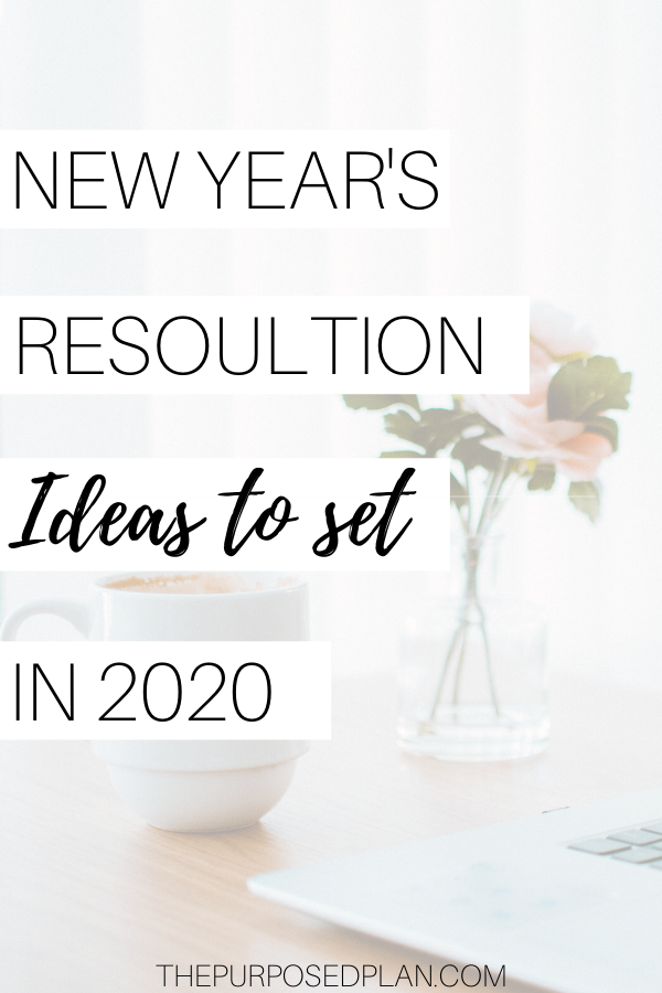 new years resolution ideas