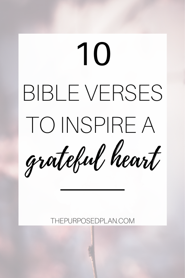 gratitude bible verses
