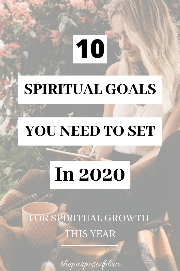 spiritual goals for 2020