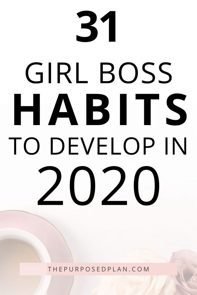 GIRL BOSS HABITS