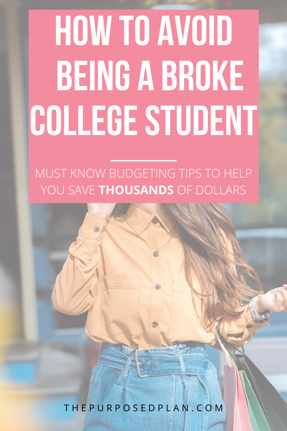 HOW TO CREATE A COLLEGE BUDGET