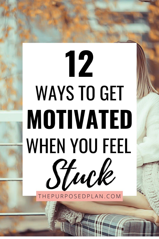 ways to get unstuck