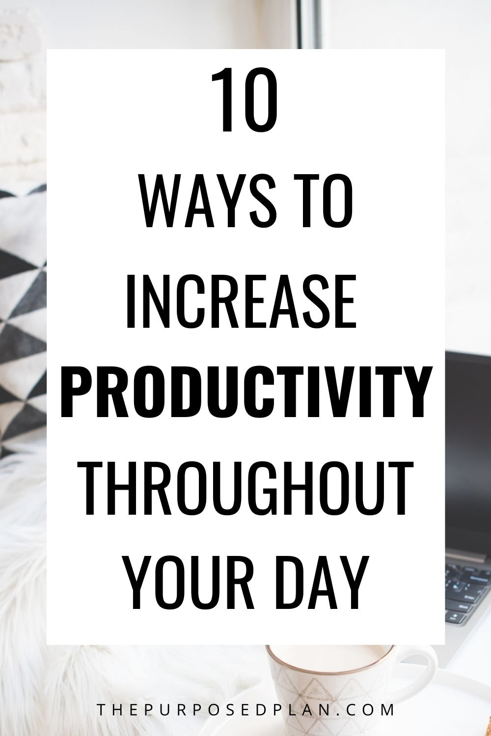 small changes to increase productivity