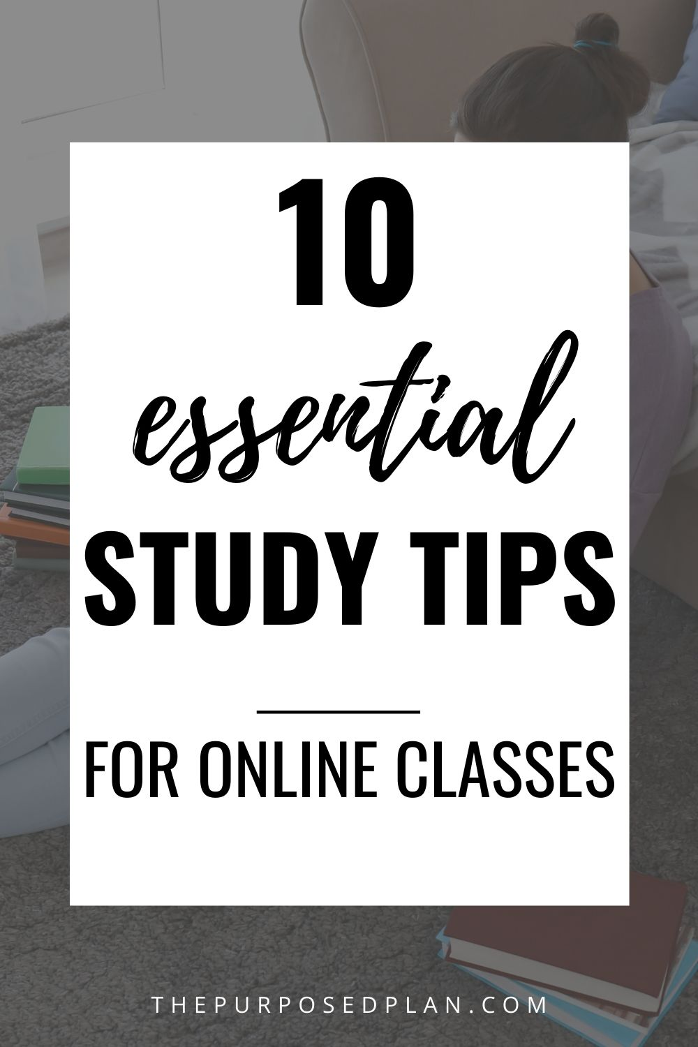 TIPS FOR ONLINE CLASSES