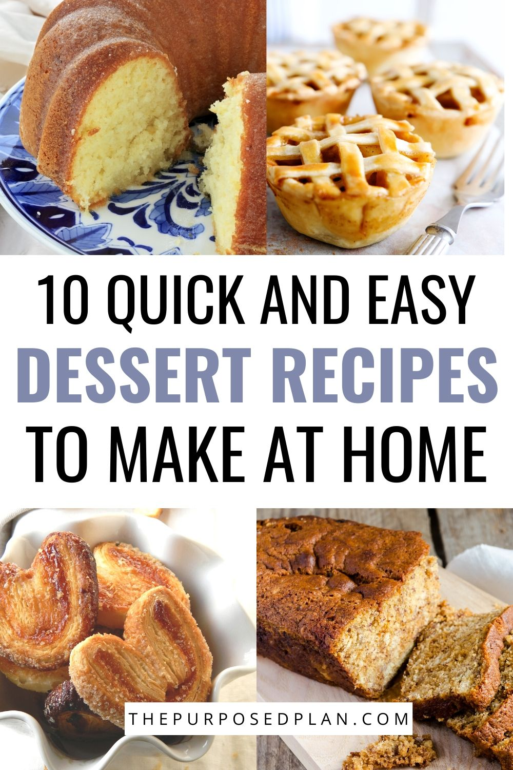 dessert recipes to try