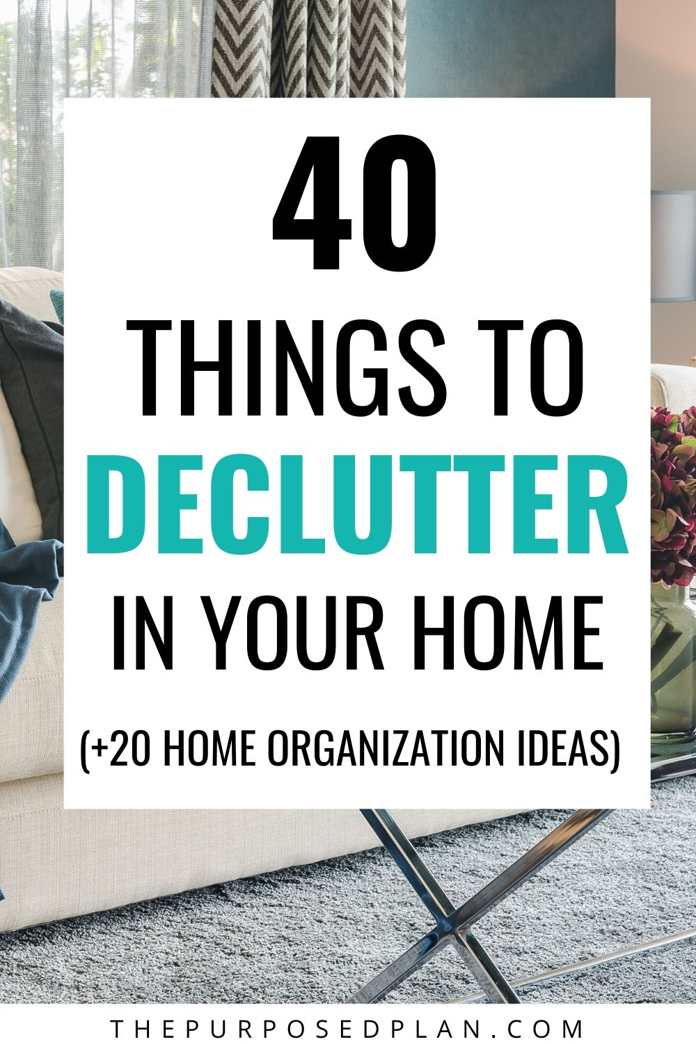 things to declutter in your home