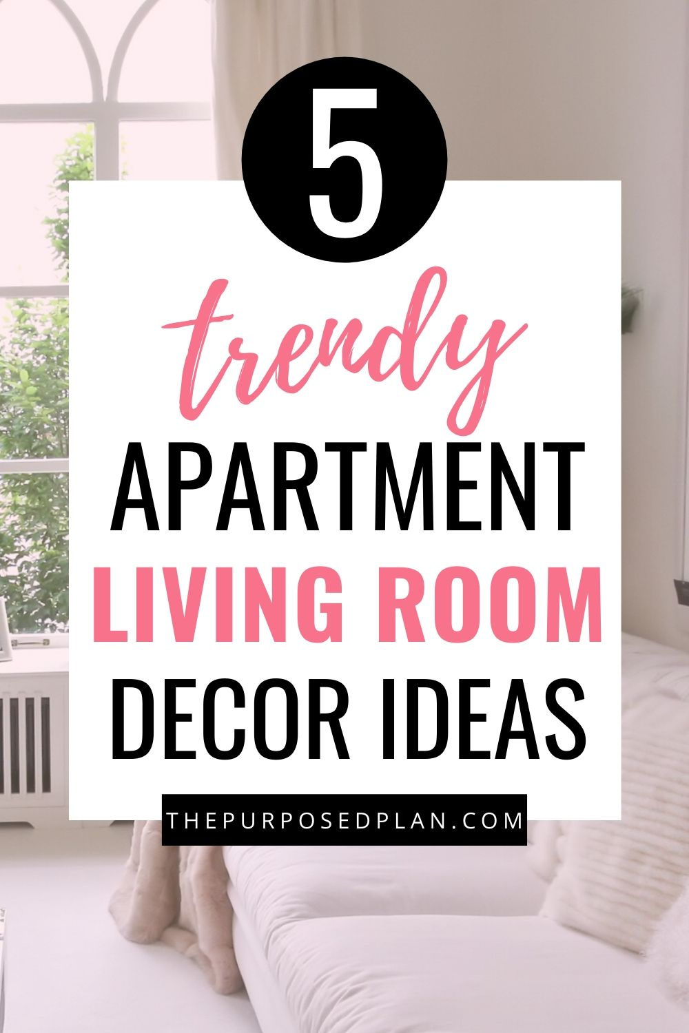 APARTMENT LIVING ROOM DECOR IDEAS TO TRY