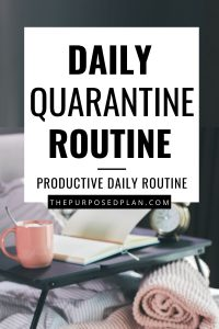 productive work from home routine