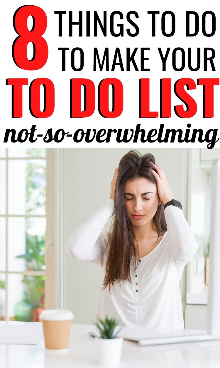 HOW TO MANAGE YOUR TO DO LIST
