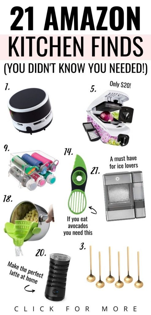 Amazon kitchen must haves and amazon kitchen finds