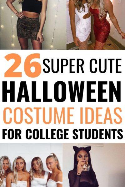 easy college halloween costume ideas