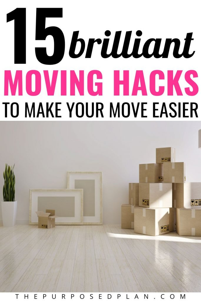 GENUIS MOVING HACKS TO MAKE YOUR MOVE EASIER
