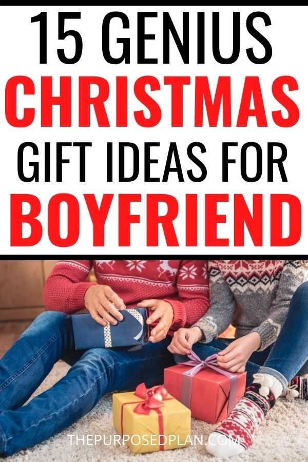 Christmas gift ideas for boyfriend