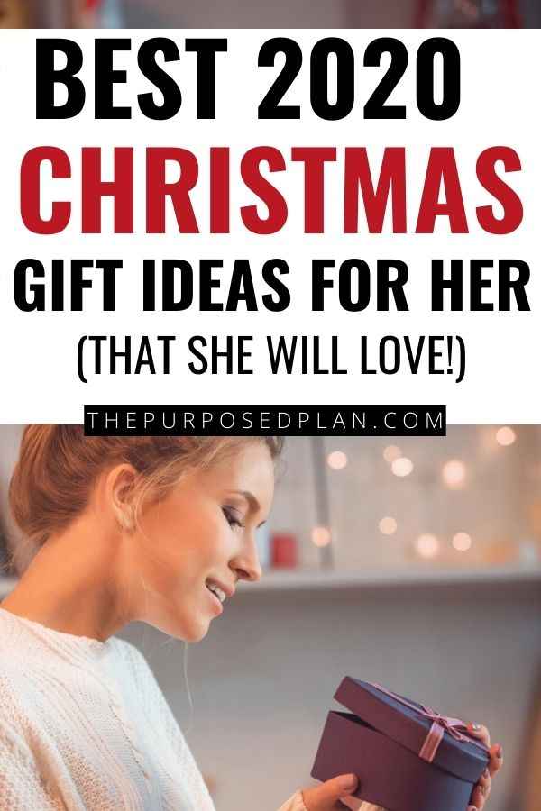 2020 Christmas gift ideas for her