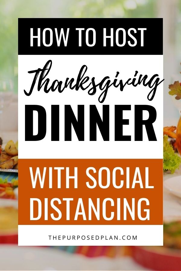 HOW TO HOST A SOCIALLY DISTANCED THANKSGIVING