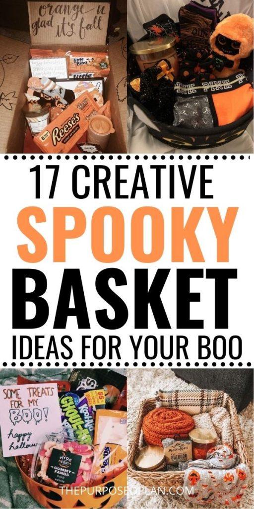 SPOOKY BASKET IDEAS FOR GIRLFRIEND SPOOKY BASKET IDEAS FOR BOYFRIEND SPOOKY BASKET IDEAS FOR FRIENDS