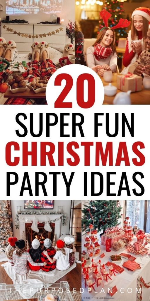 EASY CHRISTMAS PARTY IDEAS 2020