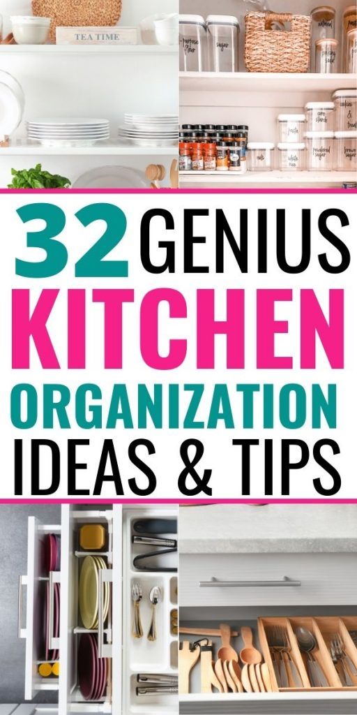WAYS TO ORGANIZE A SMALL KITCHEN ON A BUDGET