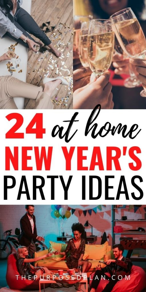 STAY AT HOME NEW YEARS PARTY IDEAS
