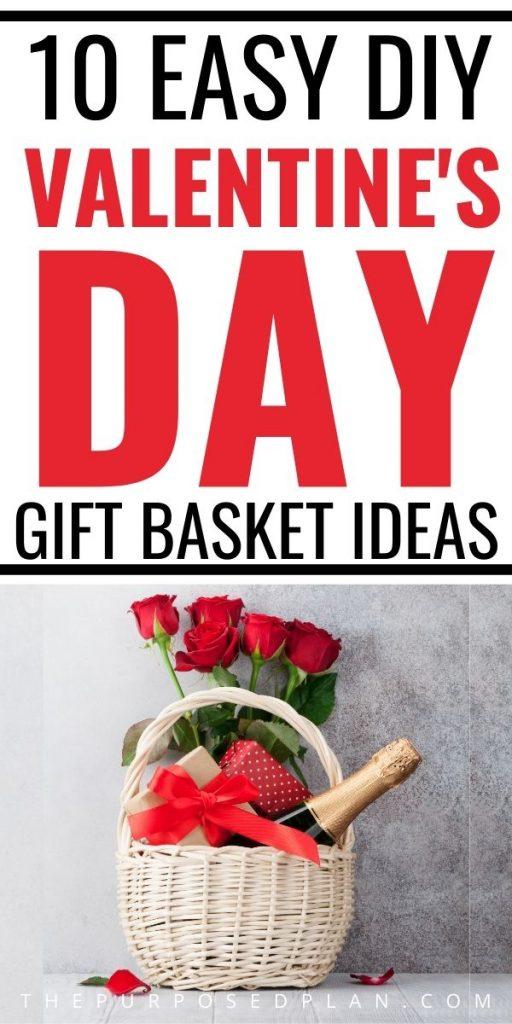 DIY Valentine's Day Gift Basket Ideas