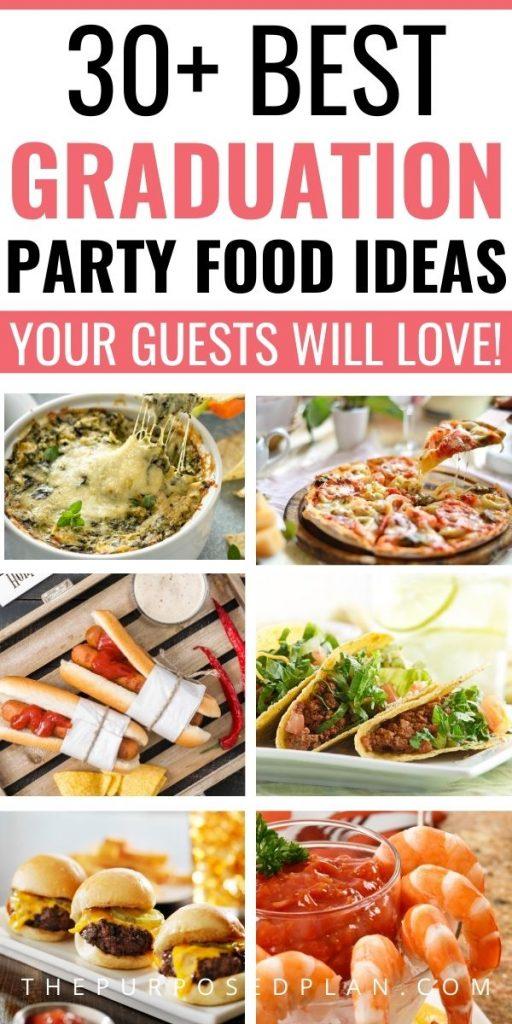 EASY GRADUATION PARTY FOOD IDEAS