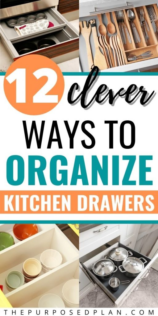 BEST WAYS TO ORGANIZE KITCHEN DRAWERS