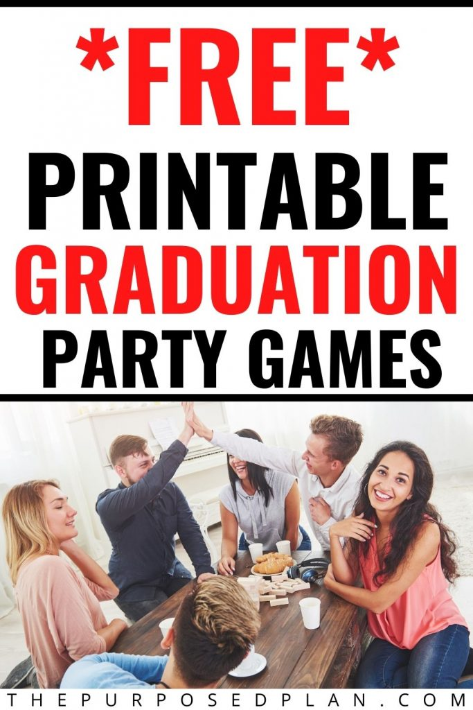 FREE PRINTABLE GRADUATION PARTY GAMES