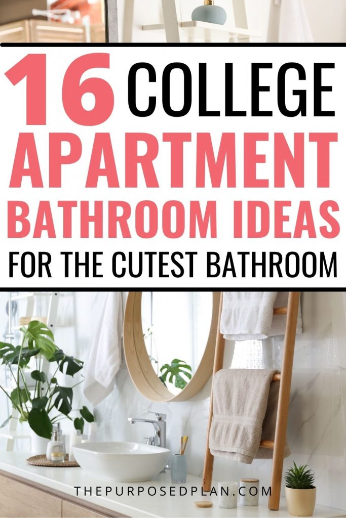college apartment bathroom ideas