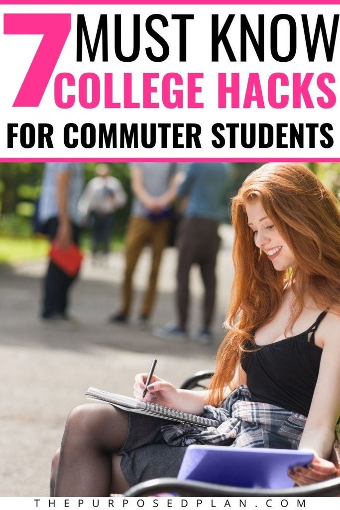 hacks for college commuter students