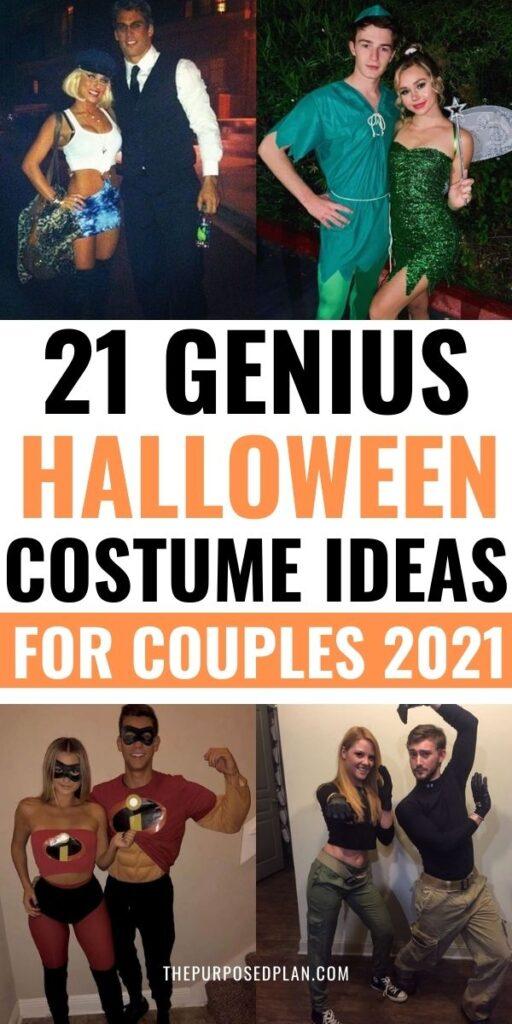 COUPLES HALLOWEEN COSTUME IDEAS 2021
