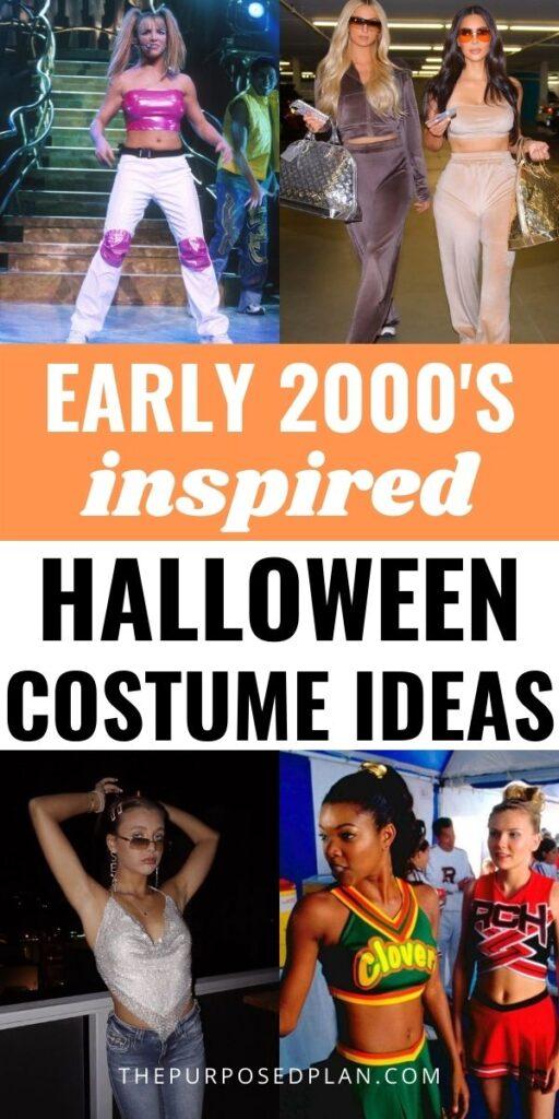 early 2000s halloween costume ideas