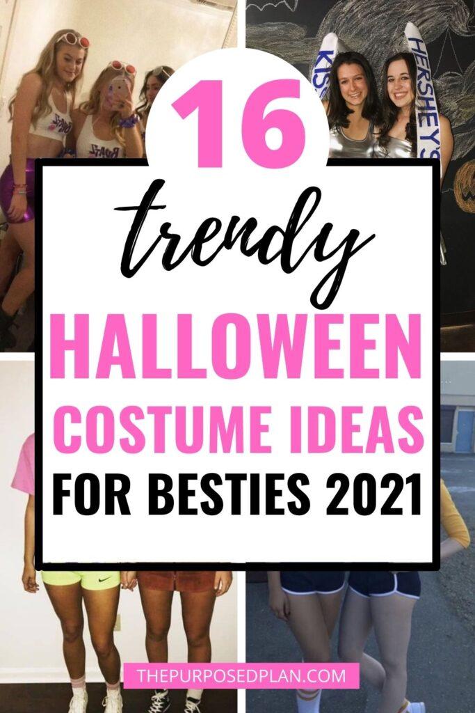 HALLOWEEN COSTUME IDEAS FOR BEST FRIENDS 2021