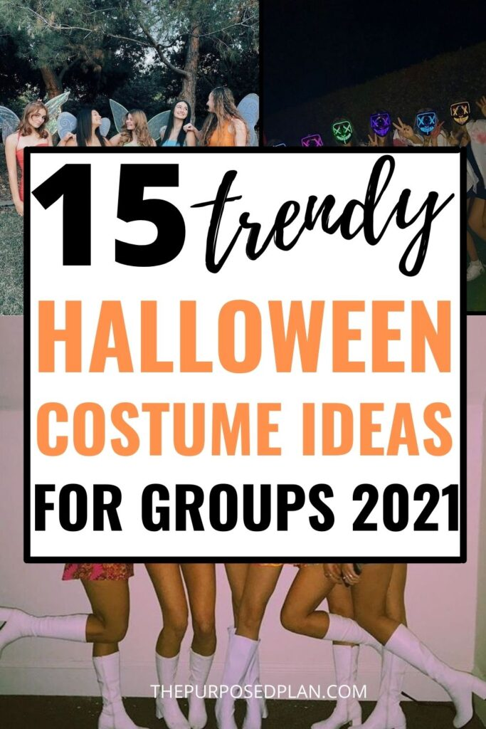 easy halloween costume ideas for groups