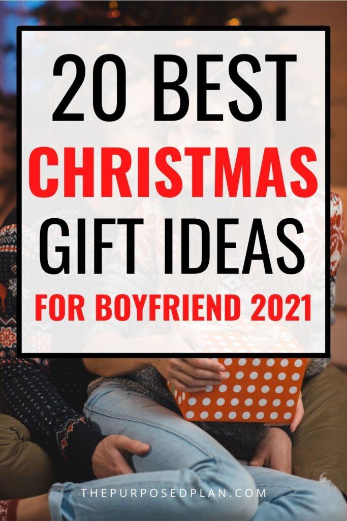 Christmas gift ideas for boyfriend 2021