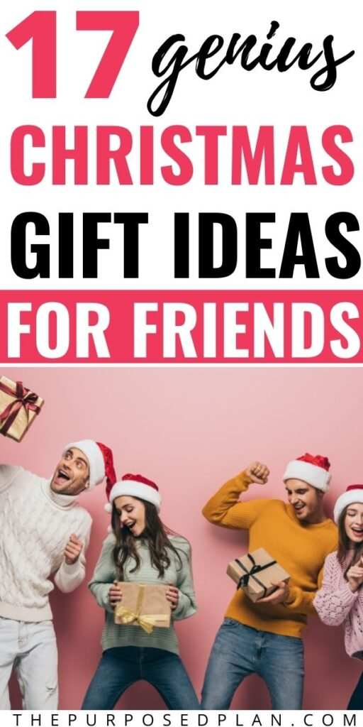 CHRISTMAS GIFT IDEAS FOR FRIENDS 2021